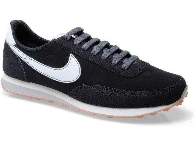 Tênis Masculino Nike 444337-013 Elite Leather si Preto/branco