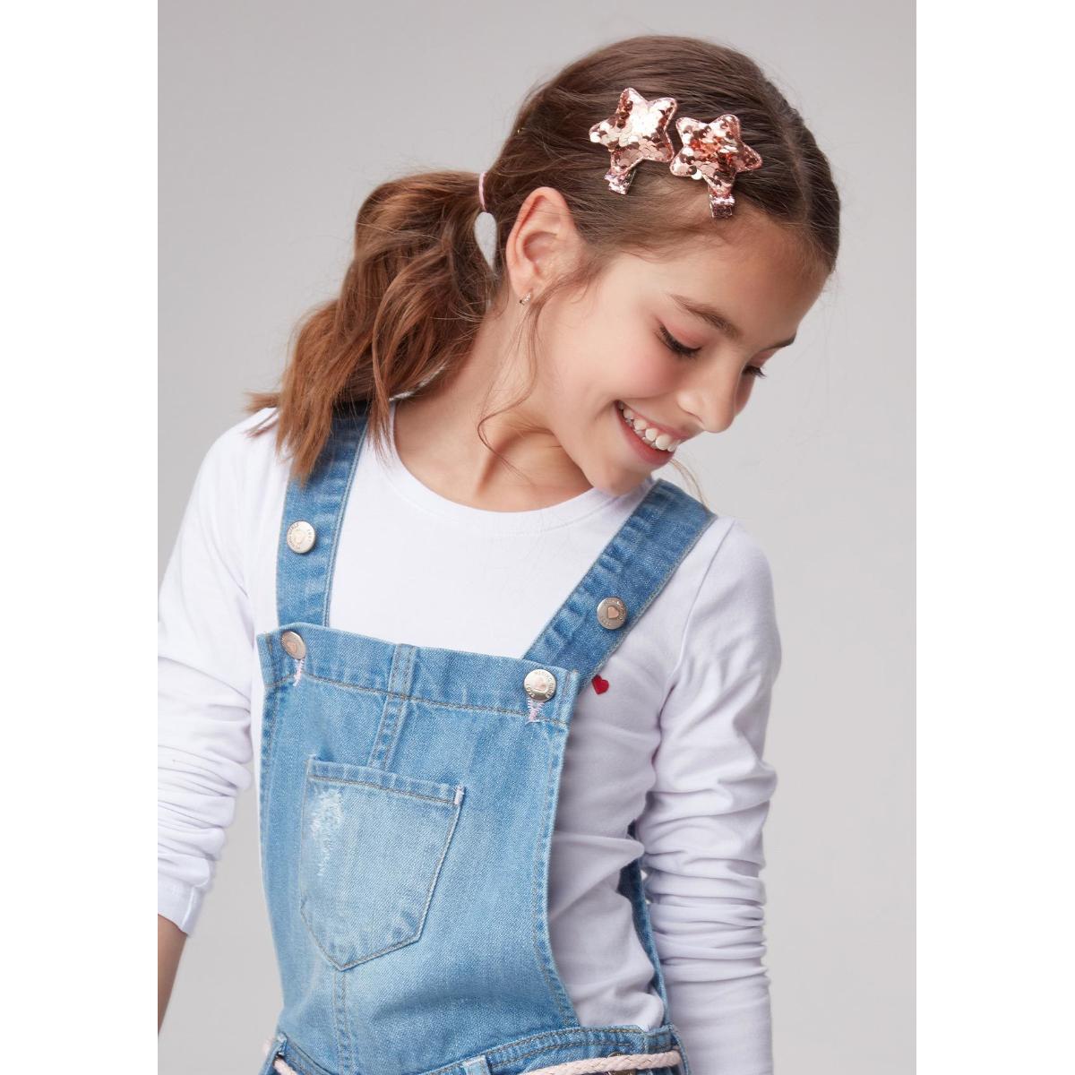 Tiara Fem Infantil Hering Kids Kz1f 1asi Rose