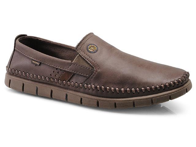 Sapato Masculino Free Way Duna-8 Capuccino