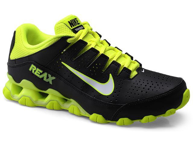 Tênis Masculino Nike 616543-003 Reax 8 tr sl Preto/limão