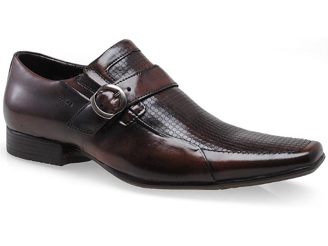 Sapato Masculino Ferracini 5969 Prince Café