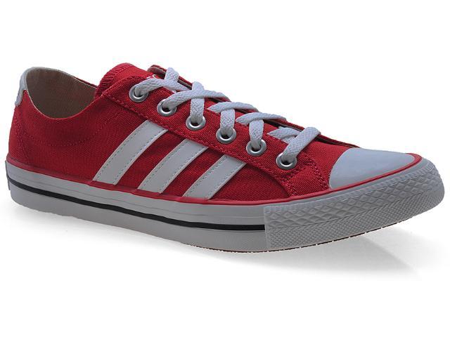 Tênis Masculino Adidas Q38687 Vlneo 3 Strip Vermelho/branco