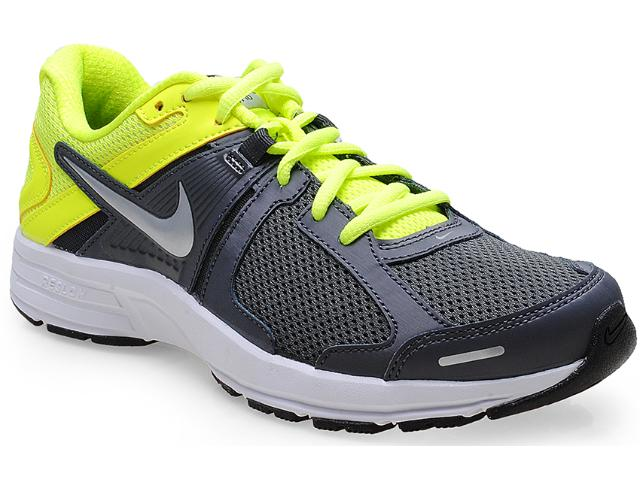 Tênis Masculino Nike 580527-019 Dart 10 Msl Chumbo/limão