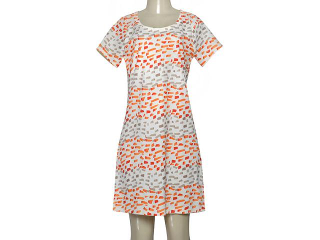 Vestido Feminino Borda Barroca 4001317 Off White