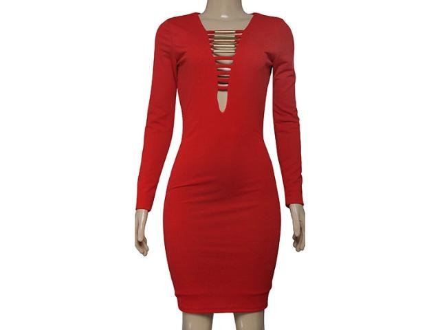 Vestido Feminino Coca-cola Clothing 443201865 Vermelho