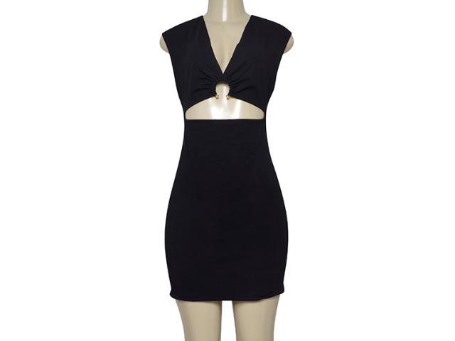 Vestido Feminino Coca-cola Clothing 445800062 Preto