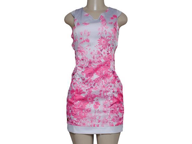 Vestido Feminino Dopping 018057525 Cinza/rosa