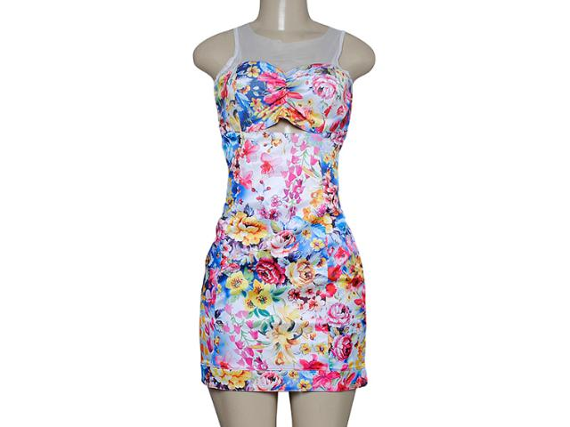Vestido Feminino Dopping 018057521 Floral