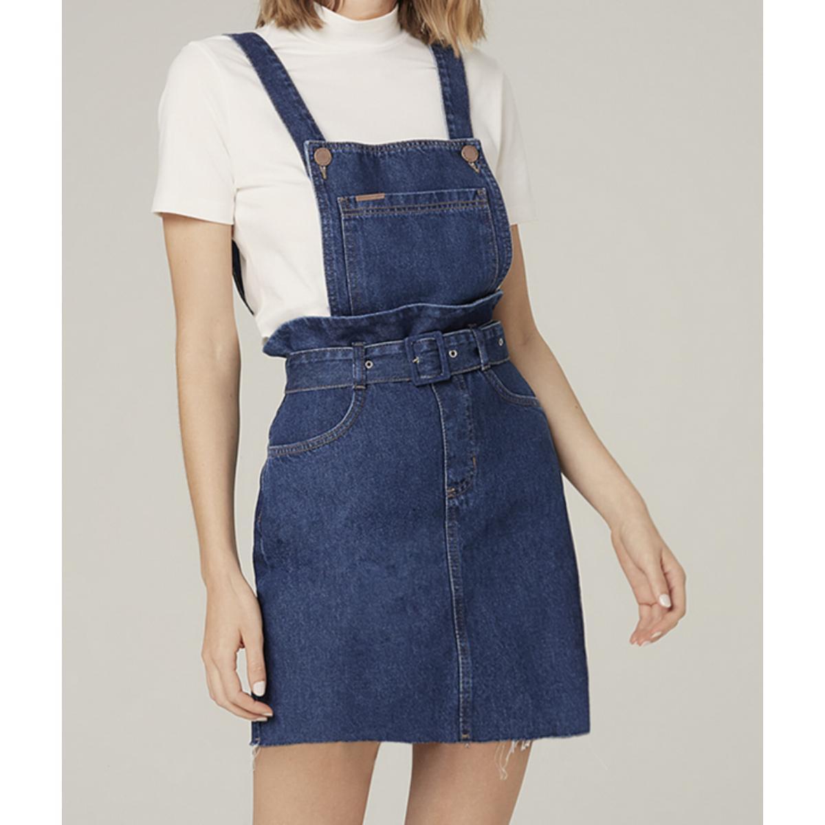 Vestido Feminino Dzarm Zarn 1asn Jeans