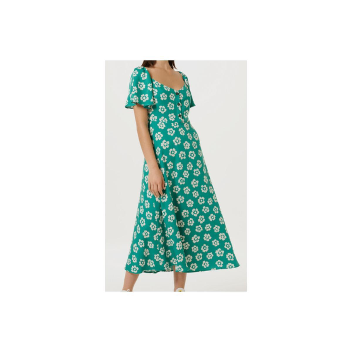 Vestido Feminino Hering Ha6h 1cen Verde