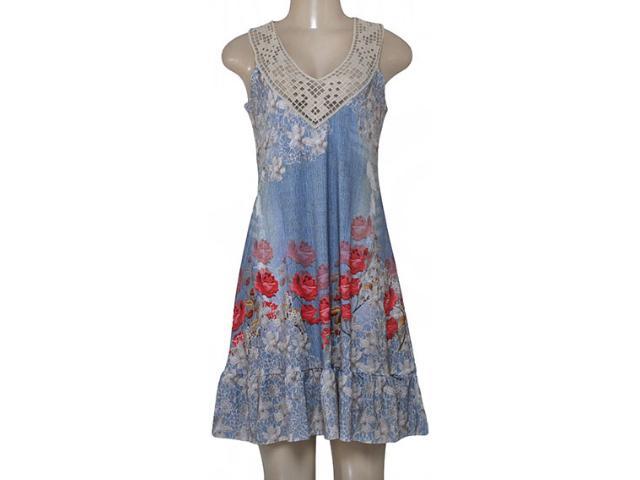 Vestido Feminino Intuição 152594 1971 Estampado Floral