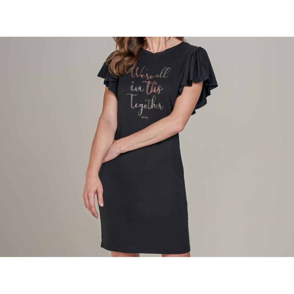 Vestido Feminino Lado Avesso L115595 Preto