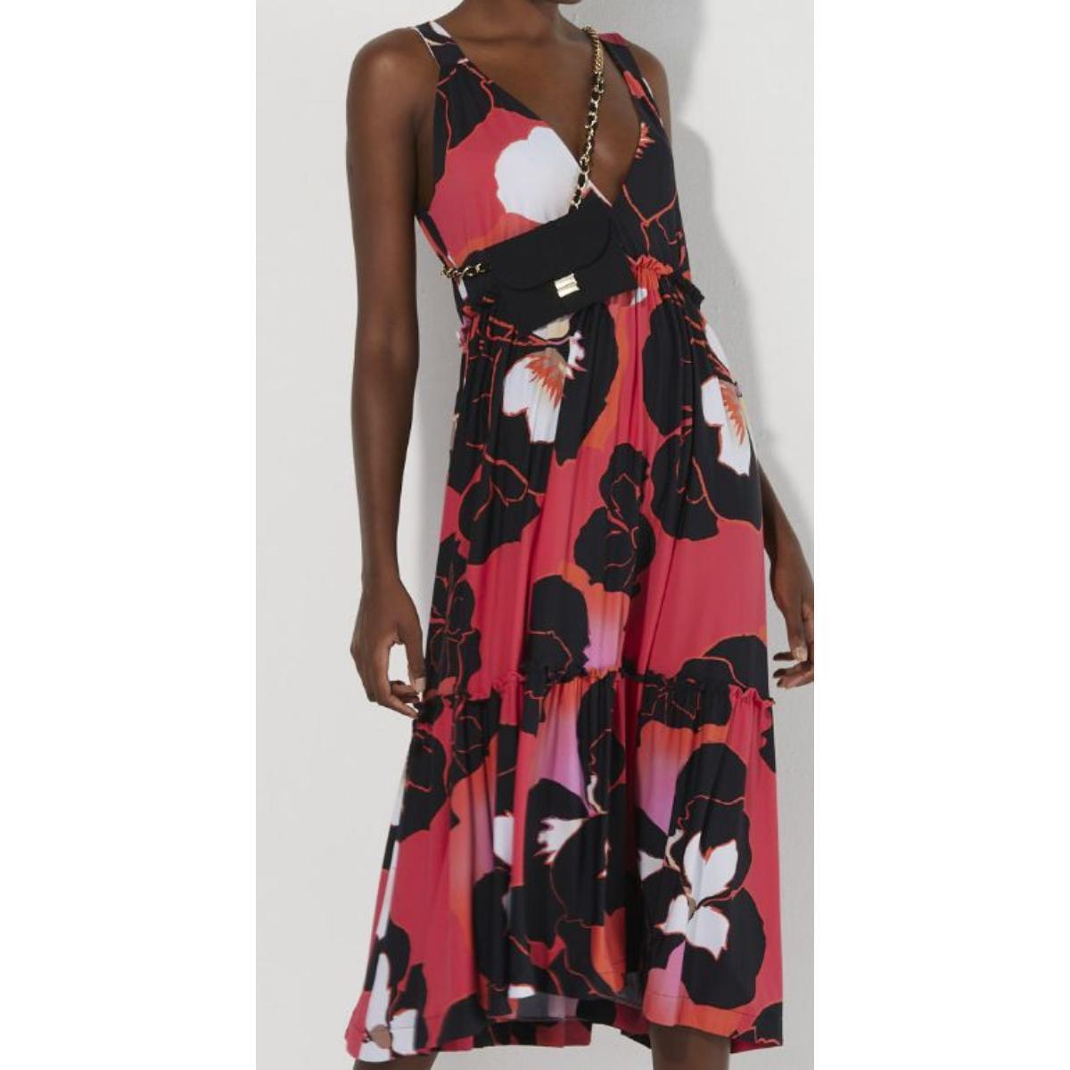 Vestido Feminino Lafort E22v468 Amor Perfeito Rosa