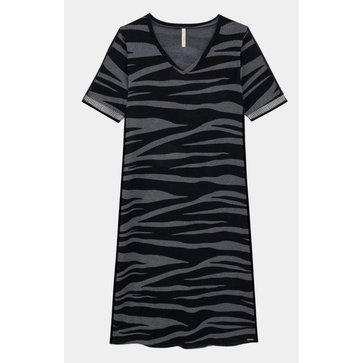 Vestido Feminino Lunender 60185 Mescla