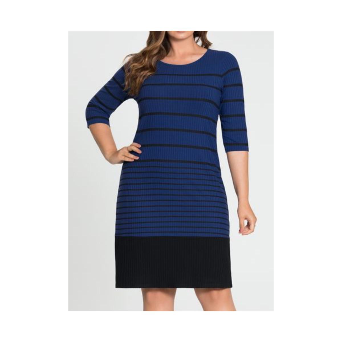 Vestido Feminino Lunender 60187 Azul
