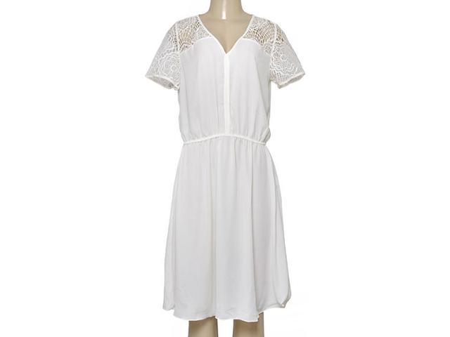 Vestido Feminino Maria Valentina 103541 Off White