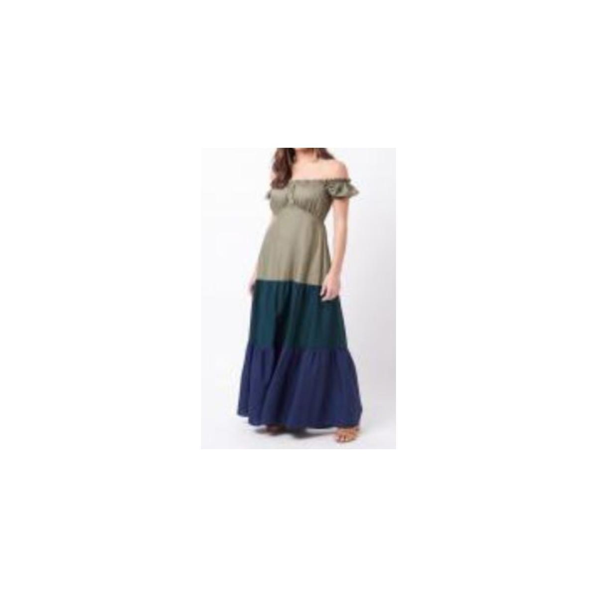 Vestido Feminino Mercatto 2837188 113 Verde/marinho
