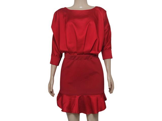Vestido Feminino Moikana 150161 Vermelho