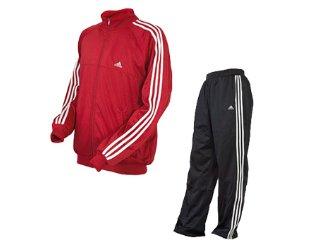 Abrigo Masculino Adidas 610126 Vermelho - Tamanho Médio