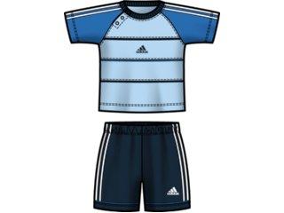 Conjunto Masc Infantil Adidas E13922 Marinho/azul - Tamanho Médio