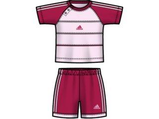 Conjunto Fem Infantil Adidas E13920 Pink/rosa - Tamanho Médio
