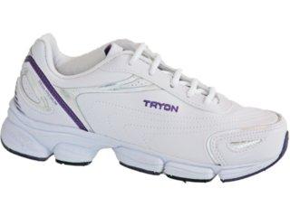 Tênis Feminino Tryon Siena Branco/violeta - Tamanho Médio