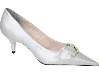 Sapato Feminino Bebêcê418256 Prata - Tamanho Médio