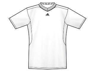 Camiseta Masculina Adidas 808032 Branco - Tamanho Médio