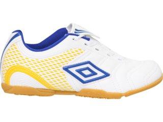 Tênis Masc Infantil Umbro World Cup 20057 Branco/azul - Tamanho Médio