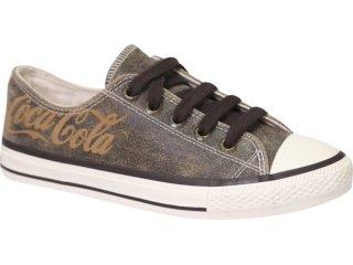 Tênis Feminino Coca-cola Shoes C01002002 Marrom - Tamanho Médio