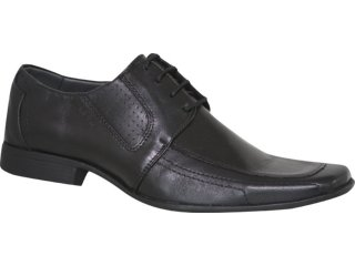 Sapato Masculino Perlatto 5504 Preto - Tamanho Médio
