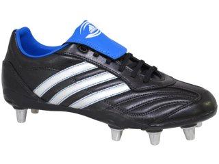 Chuteira Masculina Adidas Regulate 929738 Pto/prata/azul - Tamanho Médio