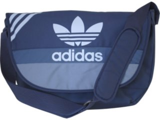 Bolsa Masculina Adidas E41650 Marinho - Tamanho Médio