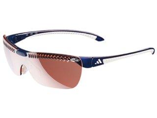 óculos Masculino Adidas A137/00 6053 Gazelle Azul/branco - Tamanho Médio