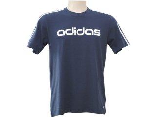 Camiseta Masculina Adidas P09125 Marinho - Tamanho Médio