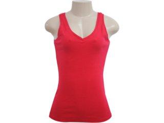 Blusa Feminina Hering 01tf Rxx07s Vermelho - Tamanho Médio