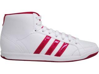 Tênis Feminino Adidas Adi Hoop G43742 Branco/pink - Tamanho Médio
