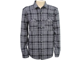 Camisa Masculina Dopping 011961004 Preto - Tamanho Médio