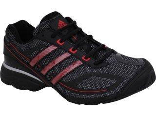 Tênis Masculino Adidas Evo 2011 G29634 Preto/vermelho - Tamanho Médio