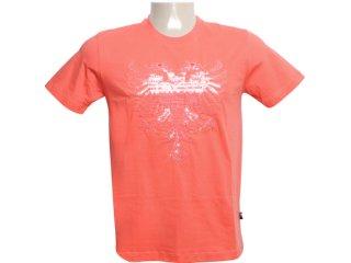 Camiseta Masculina Cavalera Clothing 01.01.6054 Laranja - Tamanho Médio