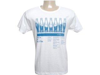 Camiseta Masculina Coca-cola Shoes 353202436 Gelo - Tamanho Médio