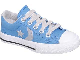 Tênis Masc Infantil All Star 134098 Azul Náutico - Tamanho Médio