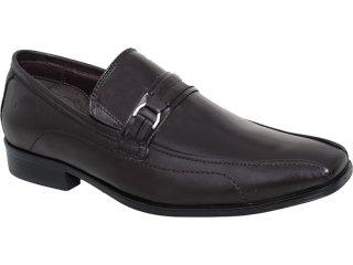 Sapato Masculino Democrata 0130101 Café - Tamanho Médio