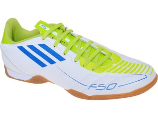 Tênis Masculino Adidas f5 in G29105  Branco/limão - Tamanho Médio