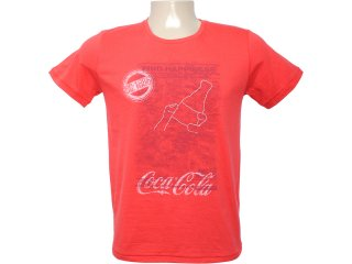 Camiseta Masculina Coca-cola Shoes 353202543 Vermelho - Tamanho Médio