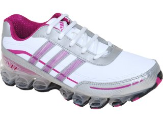 Tênis Feminino Adidas Adiligtninbouce G51967 Bco/pta/violeta - Tamanho Médio