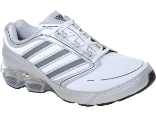 Tênis Masculino Adidas Devotion G41344  Branco/prata - Tamanho Médio