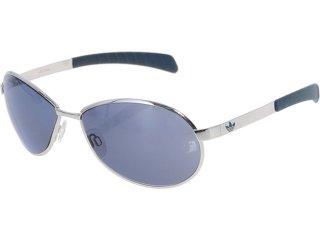 óculos Masculino Adidas Ah15/10 6050 Captain Prata/metalico - Tamanho Médio