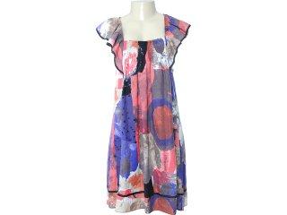 Vestido Feminino Dutmy 50.18.1138 Marrom - Tamanho Médio