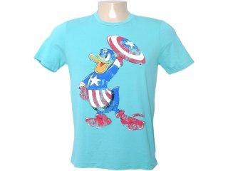 Camiseta Masculina Cavalera Clothing 01.01.6276 Verde - Tamanho Médio
